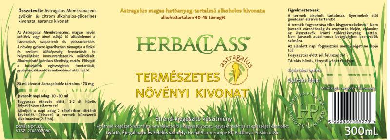 Astragalus - Tragant, 60 veg. kapszula - Herbal actives - VitalAbo Online Shop Magyar